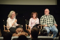 L to R: Carol Littleton, Bobbie O'Steen and Jerry Greenberg discuss the impact of Dede Allen and Sam O'Steen's work.