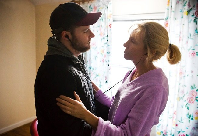 Jack Reynor and Toni Collette in Gerard Barrett's Glassland. Photograph by Pat Redmond