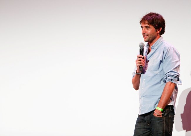 Neel at a Sundance NEXT FEST screening of Goat. Photograph by Ryan Kobane, courtesy of Sundance Institute