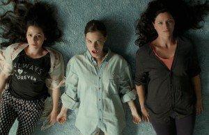Lindsay Burdge, Jennifer Lafleur and Aleksa Palladino star as three sisters in Midnight Swim.