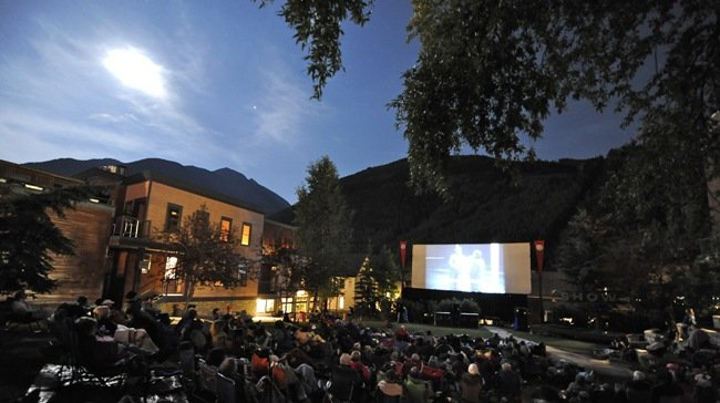 The Abel Gance Theatre at the Telluride Film Festival. Photograph by Merrick Chase