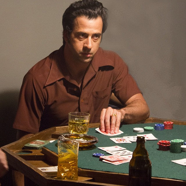 Poker Face. LILY OF THE FEAST actor Troy Garity looks to go all in #lilyofthefeast #troygarity #federicocastelluccio #poker #wiseguy #sopranos #movies #moviemaker #director #mafia #thanksgiving #paulsorvino