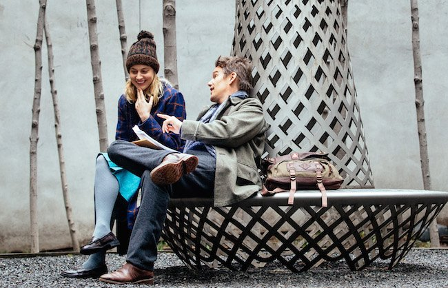 Greta Gerwig as Maggie and Ethan Hawke as John, colleagues at The New School who find themselves unexpectedly attracted to each other.