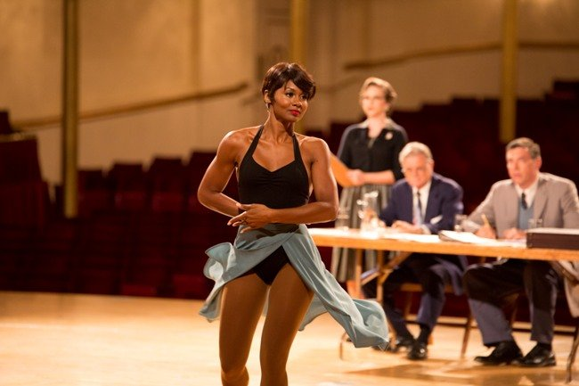 Emayatzy Corinealdi as Frances Taylor in Miles Ahead