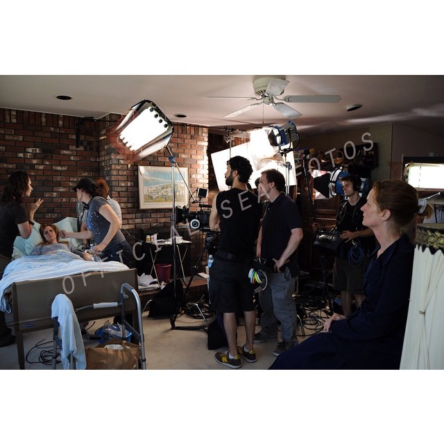 Some of the awesome crew #onset of THE SEA IS ALL I KNOW : Director @jordan_bayne talks with amazing actress Kelly Hutchinson and make up Nicole Potter as 1st AC Mike Drucker, Sound Mixer Dave Groman and AD Alex Gavin look on. The incomparable #MelissaLeo deep in character here. Shot on #RedOne with #Zeiss Primes. Check out the #Vimeo Staff Pick here : https://vimeo.com/59952384