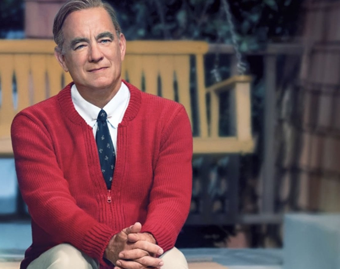 Mr. Rogers' widow Joanne Rogers Mr Rogers movie Mister Rogers Beautiful Day in the Neighborhood Tom Hanks Noah Harpster