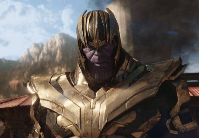 Thanos hero Avengers Endgame Avengers Infinity War