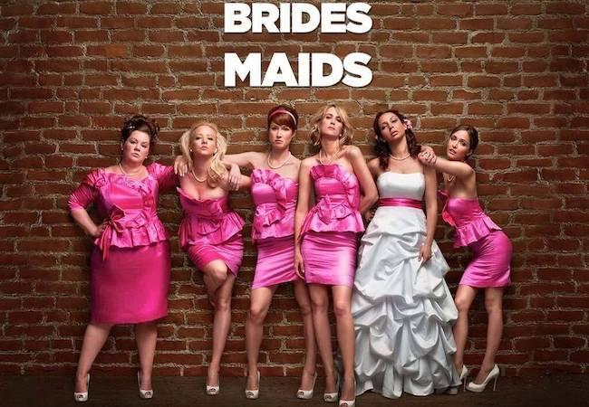 Birds of Prey Bridesmaids
