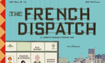 French Dispatch poster Wes Anderson