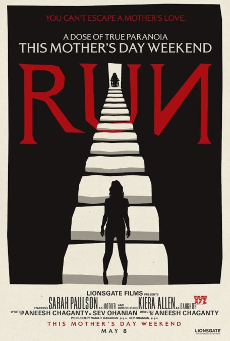 Run poster Sarah Paulson Aneesh Chaganty