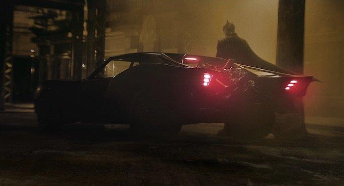 Batmobile Matt Reeves