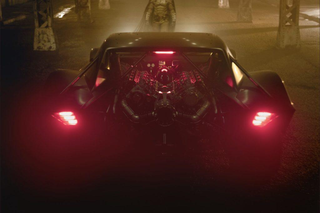 New Batmobile Matt reeves