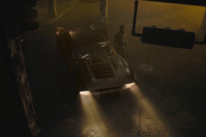 Batmobile Batman Matt Reeves