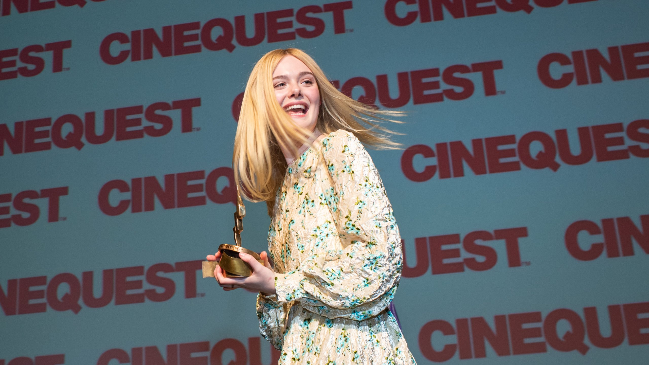 Elle Fanning at Cinequest