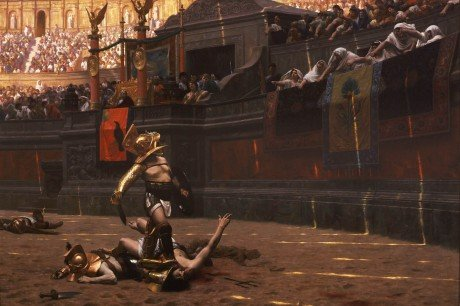 Gladiator painting Capone Ridley Scott Movie News
