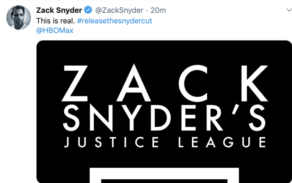 Zack Snyder Cut Justice League
