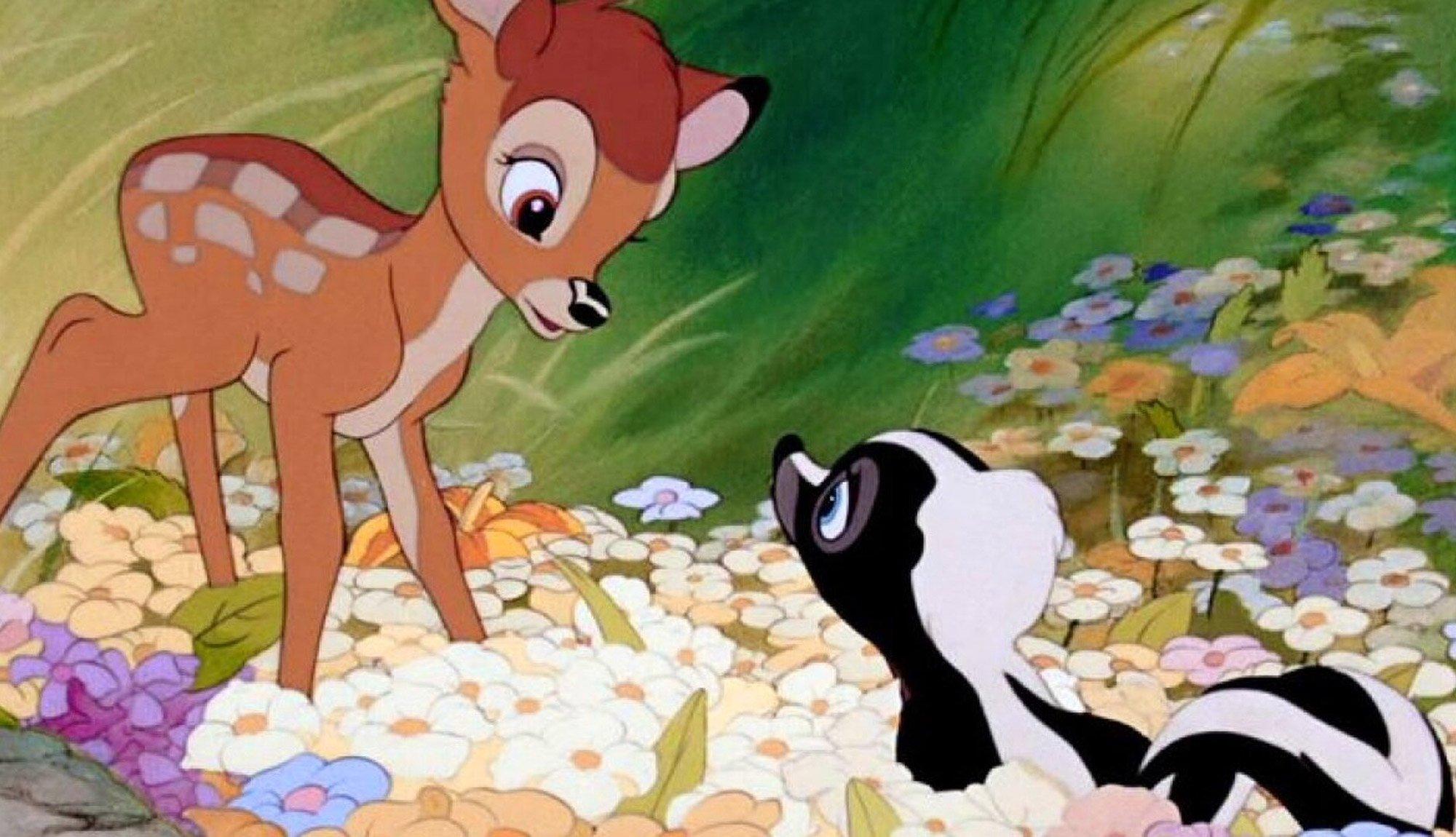 Bambi Change Hunting and Eating Habits