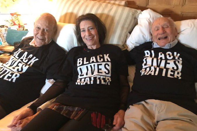 Carl Reiner Black Lives Matter BLM