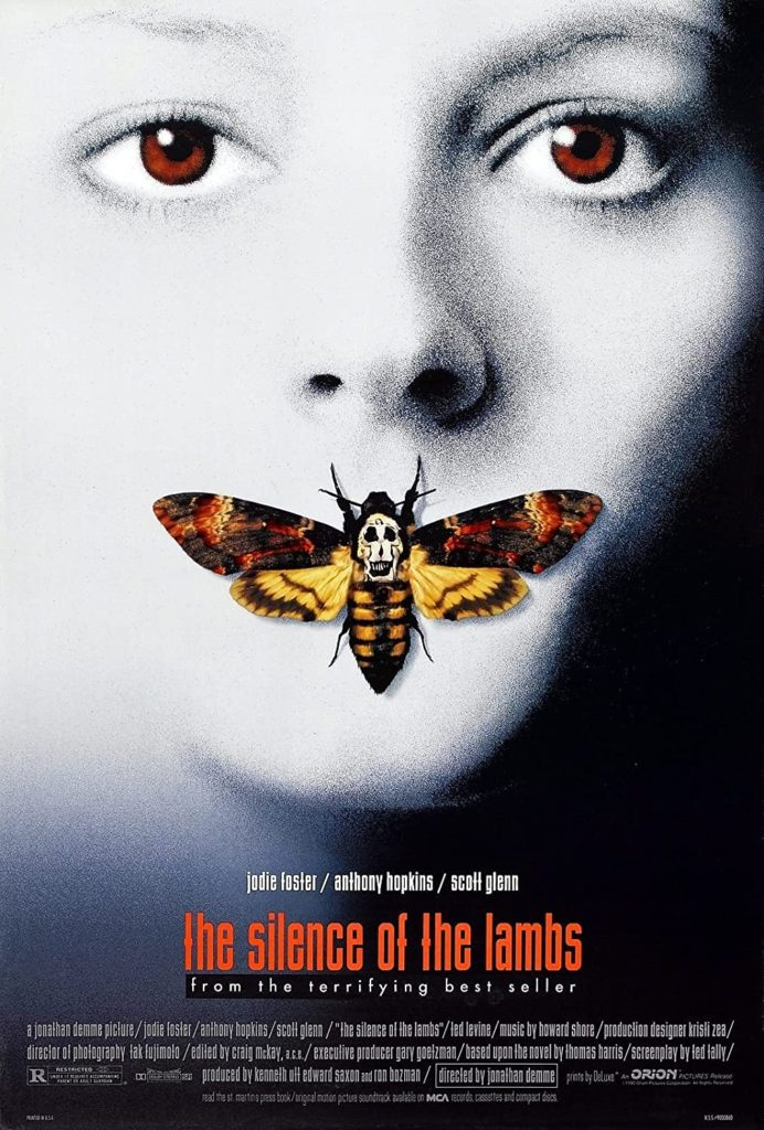 Silence of the Lambs Clarice Dali death's head moth skull