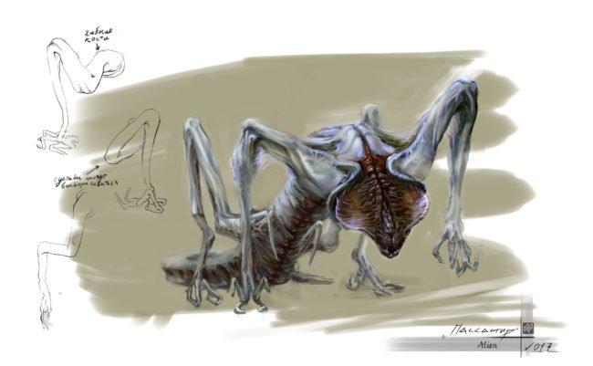 Sputnik creature