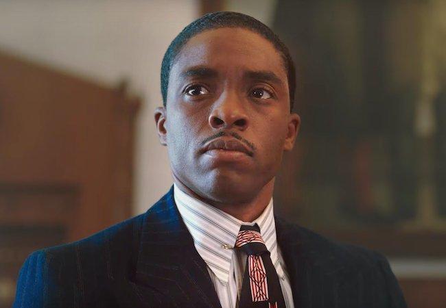 Chadwick Boseman Micheaux Thurgood Marshall