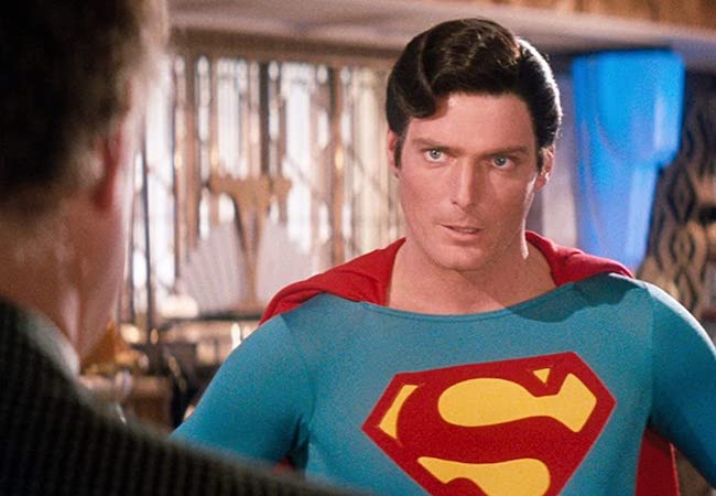 Superman 4 Superman IV The Quest for Peace Christopher Reeve Morgan Freeman
