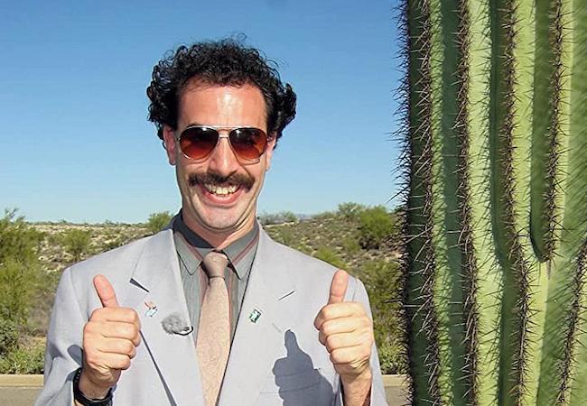 Borat 2 Oscars diversity