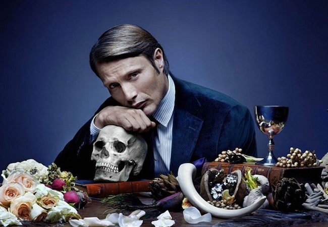 Mads Mikkelson as Hannibal Lecter in Hannibal