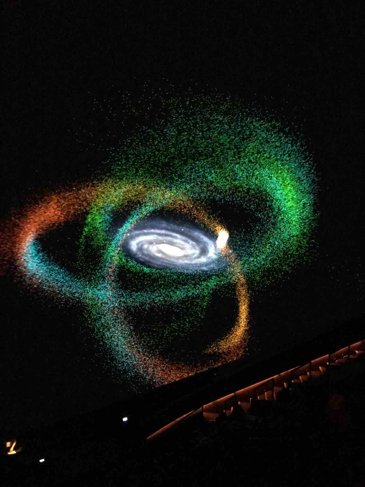 Fulldome IMAX planetarium