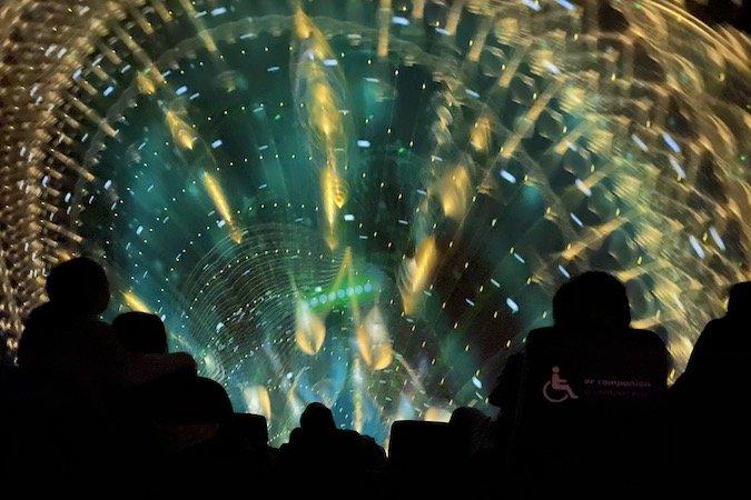 Fulldome Callboard IMAX Michael Daut