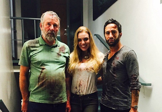 Tar movie Timothy Bottoms, Emily Peachey, Aaron Wolf and a whole lot of Tar