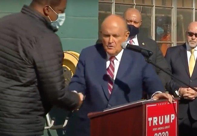 Rudy Giuliani sex offender Daryl Brooks