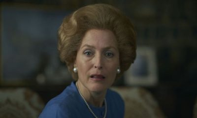 The Crown Gillian Anderson Margaret Thatcher