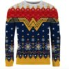 Wonder Woman Christmas sweater
