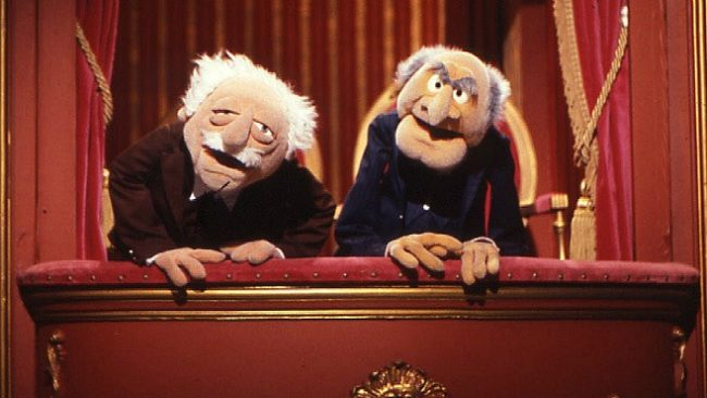 Muppets Statler and Waldorf