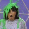 orange years nickelodeon green slime