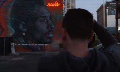 Kobe Bryant murals Sincerely Los Angeles