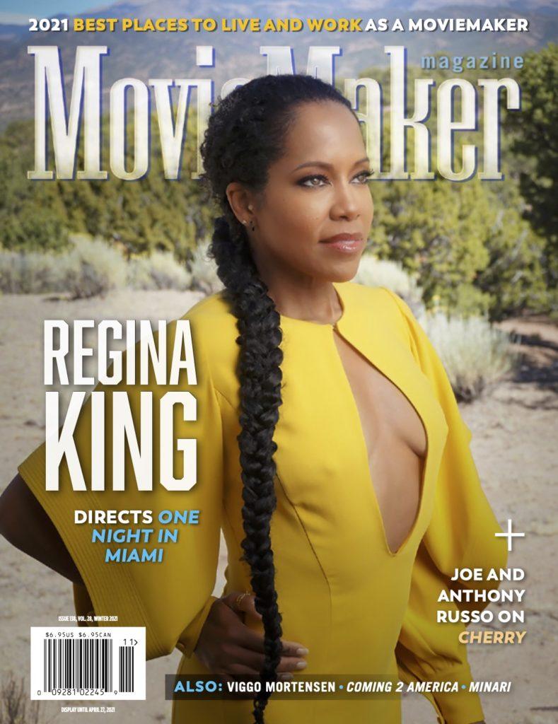 Regina King MovieMaker cover