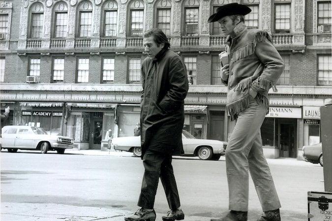 Shooting Midnight Cowboy Jon Voight Dustin Hoffman