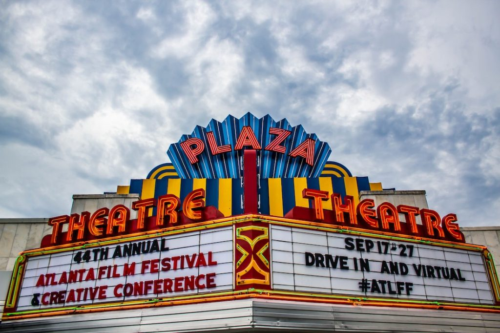 Atlanta Film Festival 2020 Marquee - Courtesy Atlanta Film Society 50 Film Festivals Worth the Entry Fee