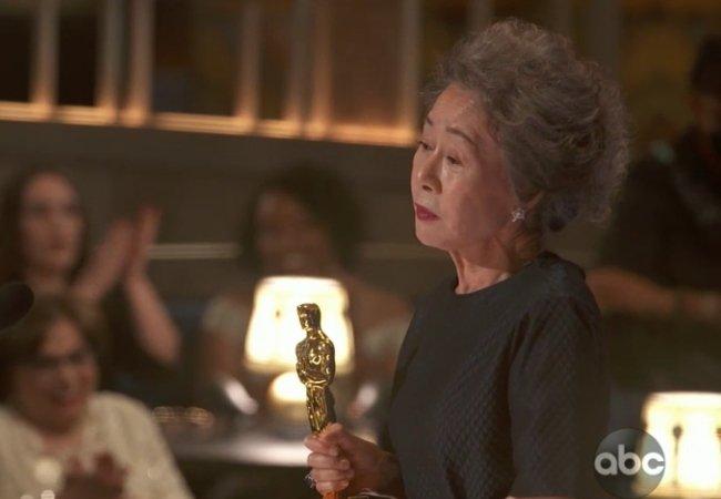 Yuh-jung Youn Oscars Minari