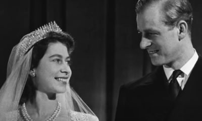 Queen Elizabeth II and Prince Philip the crown