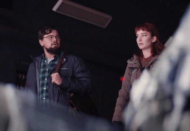 Leonardo DiCaprio Jennnifer Lawrence Don't Look Up Adam McKay
