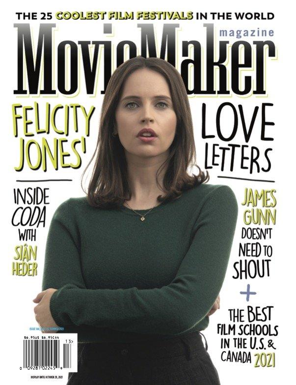 Felicity Jones MovieMaker cover