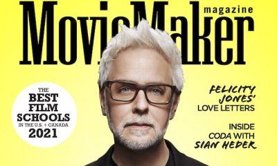 James Gunn Q&A; James Gandolfini Lost Office Role; Felicity Jones Wants to Rave