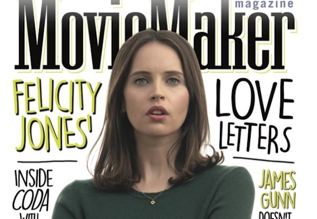 Felicity Jones Cover Reveal; Matt Damon Is Good at Acting; Film Outside