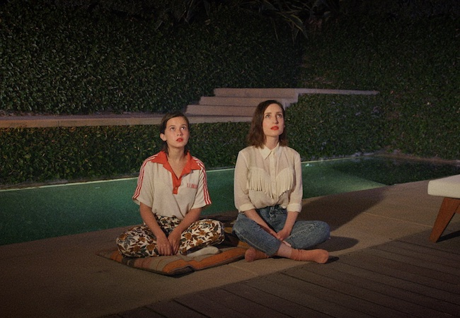 Inner child actress Cailee Spaeny Zoe Lister-Jones in How It Ends