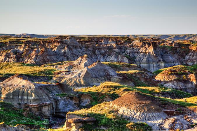 Should You Move to Calgary? Badlands of Dinosaur Provincial Park in Alberta, Canada