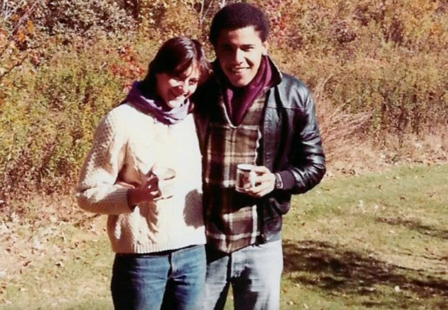 Barack Obama and Genevieve Ahearn (nee Cook)