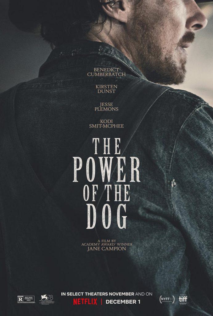 Power of the Dog poster Benedict Cumberbatch Kirsten Dunst Jane Campion Jesse Plemons